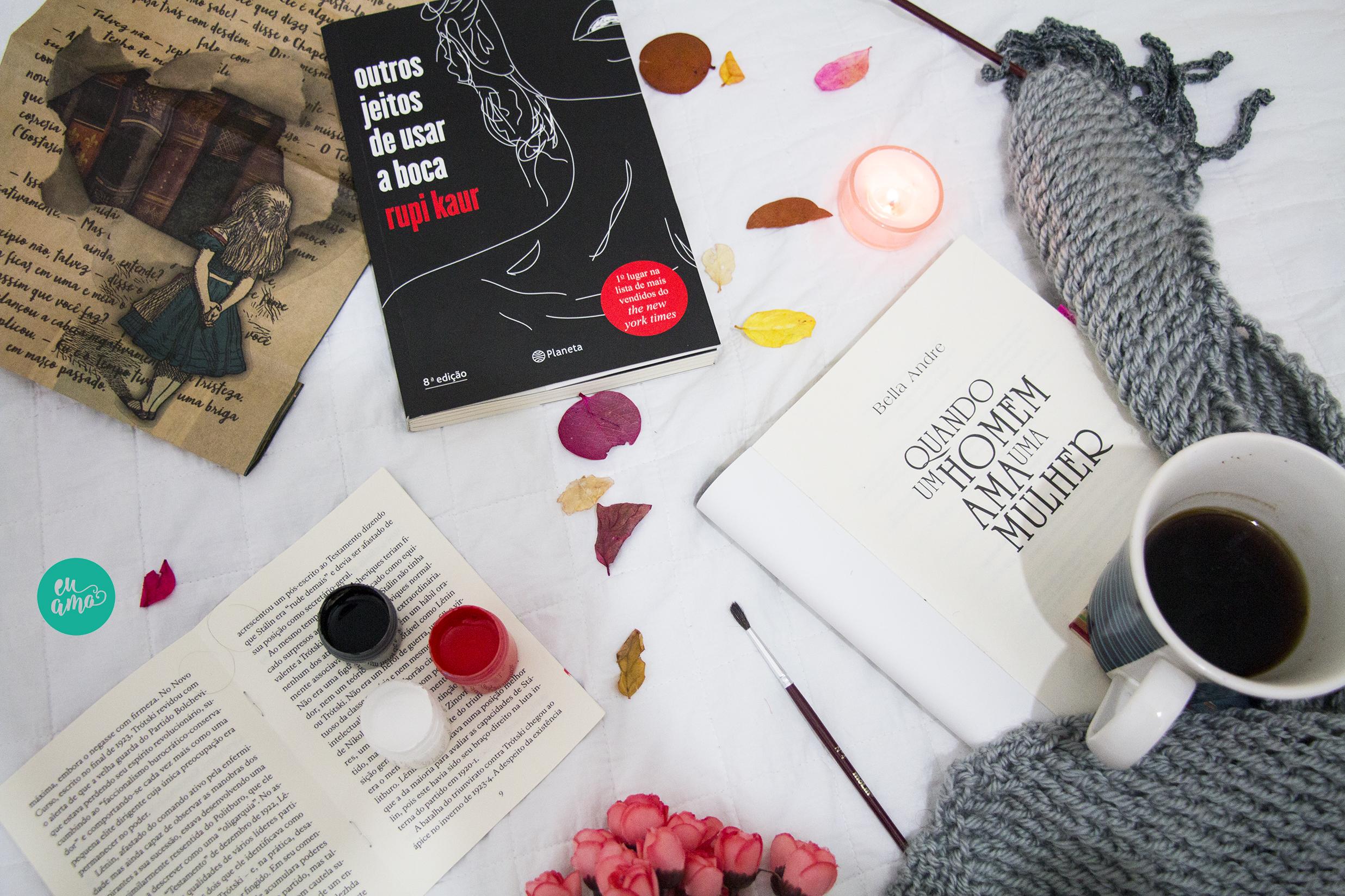 7 Títulos de livros que parecem mais uma poesia